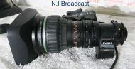 "Canon kj17e x 7.7 iase high definition lens (b4 2/3"")"