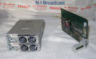 Miranda Densite 3 ethernet / frame controller card and 2x PSU (new version)