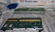 Evertz router  EQX 18 input 3G / HD input board and back connector