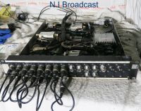 Sat truck  DSNG / RF interface panel with l band units etc