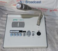RTS telex bkp-4 desktop unit with microphone