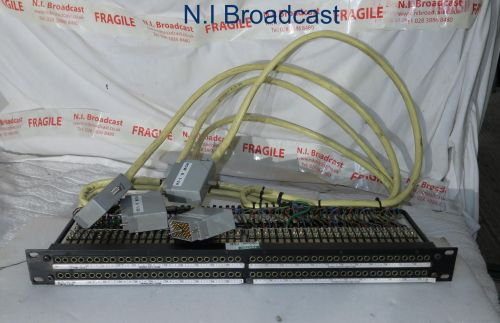 1U prewired 96port EDAC jackfield audio panel (price is for 1)