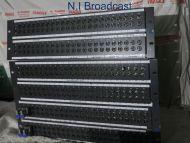 3x TSl 24x4 HD / SD video patch panel jackfields