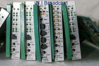 Vistek audio cards analog audio / embedder v1630 v1633 v1634