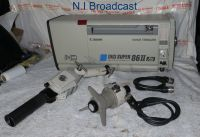 Canon xj86 hd digi super 86II XS box lens with image stablizer , remotes, and travel case