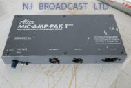Alice Mic Amp Pak1 pre amplifier unit