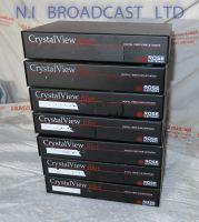 PAckage of 7x Ross Crystalview Fibre interface units for digital fibre KVM extenders