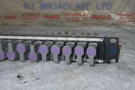 1x TSL 24 u-link 1Uvideo jackfield patchpanel for HD / 3G video etc