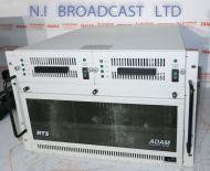 RTS telex adam 108 channel intercom talkback mainframe with 2x Master controller cards