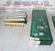 Snell Sirius 600 3G / HD 8 channel input board with rear connector