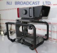 Grass Valley ldk4482 HD cradle (fischer triax) with HD 7inch viewfinder