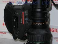 "Canon J17e x 7.7 irsd sx12lens (b4 2/3"")"
