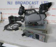 1x Sony hxc100 fischer triax camera channel