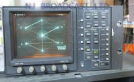 Tektronix 2 channel wfm601A SDI waveform vector scope
