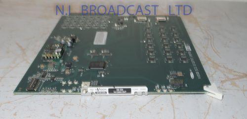 Grass valley miranda NV8500 18x output coax board (HD / 3G)