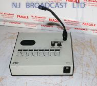 RTS dkp8 8 channel desktop intercom panel with microphone