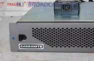 Ross Carbonite vision mixer mainframe with 2x PSU, 24x inputs, 12x outputs
