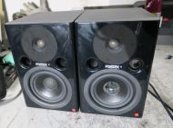 Pair of fostex pm0.4 active monitor speakers