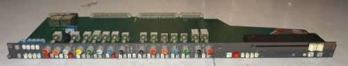 Calrec C / C2 series mixer PQ3811 sound mixer stereo input mic / line module with LL1530 transformers