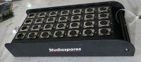 Studiospares stage box 28x XLR input, 4x XLR outputs